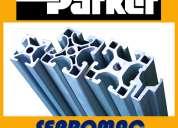 006 parker. perfiles industriales. ips. perfiles de aluminio.