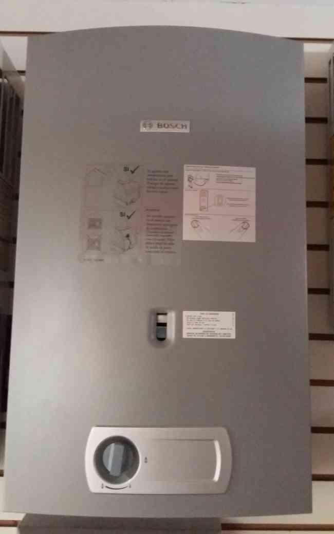 Bosch calentadores instantaneos o de paso servicio tecnico - Calentadores de gas bosch ...