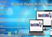 Diseño web en df | 5570632440 | diseÑos web profesionales en df alvaro obregon servicios urgentes