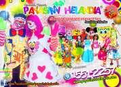 .   payasitos los primos para tu fiesta - df/edomex
