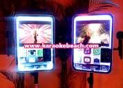 Rockola con karaoke luces disco led humo monterrey san pedro san nicolas guadalupe apodaca