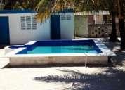 Excelente casa en chelem con piscina
