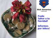 Canasta navideÑa mazapanes gourmet