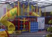 Juegos infantiles, juegos modulares, juegos de estimulación temprana, para salones de fiestas y má