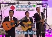 Trío romántico, serenatas, música para eventos