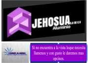 Mexica jehosua aluminio y vidrio