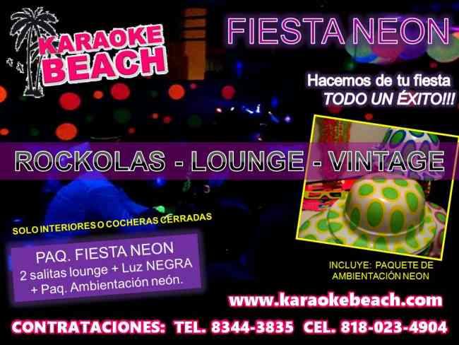 Renta de rockolas con karaoke tipo ipod Monterrey San Nicolas Guadalupe San Pedro Apodaca