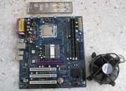 Tarjeta madre asrock 775 procesador celeron 2.9