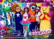 show musical de tatiana y sus amigos para tu fiesta - df/edomex