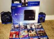 Nuevo sony ps4 console con cuatro juegos $200 dolares