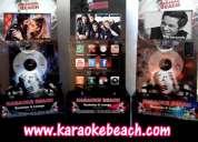 Renta de rockolas salas lounge karaoke beach rokolas cumbres mitras san jeronimo colinas