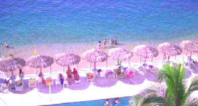 Bonito Departamento Vacacional CON PLAYA Acapulco Sobre Playa Condesa y a la Orilla del Mar