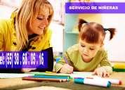 Grupo rtd te ofrece  niÑeras y cuidadoras  adecuadas y confiables  contactanos