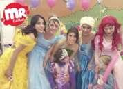 show de princesas para fiestas en puebla