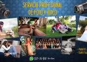 Fotografía y video profesional para eventos