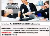 Renta de oficinas virtuales con  domicilio fiscal contactanos