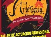 Taller de actuaciÓn profesional en texcoco (cualquier edad)