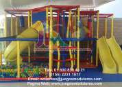 Juegos modulares, juegos infantiles, no busque más somos fabricantes nacionales para interior