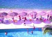 Acapulco departamento **con playa** magnífica vista y albercas en playa condesa