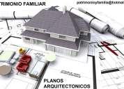 Planos arquitectonicos para creditos