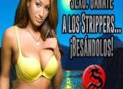 Miércoles 6 en csw:  gánate a los strippers... ¡besándolos!