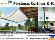 Fabrica indoor & outdoor ambience   carpas toldos persianas cortinas