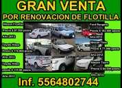 !!gran remate de vehiculos por renovacion de flotillas!!