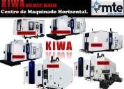 """cnc"" centro de maquinado horizontal.   kiwa"