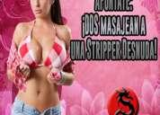 Jueves 14 en csw: ¡dos masajean a una stripper desnuda!