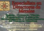 Especialistas en detectores de metales en guadalajara jalisco