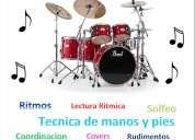 Clases profesionales de batería