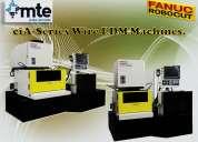 Máquinas de electroerosión de hilo fanuc.