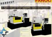 Fanuc robocut méxico cia-serie edm | máq. de electroerosión.