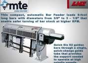 Bar feeder,  alimentador de barras automático. lns en méxico.