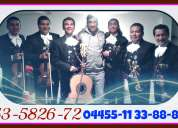Urgentes en benito juarez serenatas - 53582672 con mariachis de mariachis