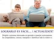 Curso de computación para adultos mayores