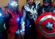 show de avengers para fiestas infantiles en puebla