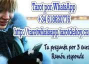 Tarot por whatsapp 3 euros +34618620776 1 pregunta