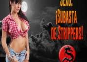 Miércoles 27 en csw:  ¡subasta de strippers!