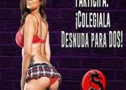 Viernes 29 en csw: ¡colegiala desnuda para dos!