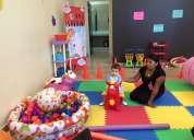 Guarderia para eventos baby gym para fiestas infantiles