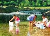 Detergente y desengrasante lavandera y blanqueador sol para ropa a granel mayoreo