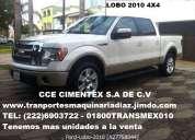 Gran remate de unidades vehiculares ford lobo lariat