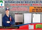 servicio de reparacion de boilers de paso bosch tijuana