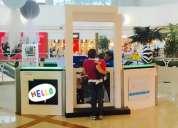 Negocio infantil en centro comercial