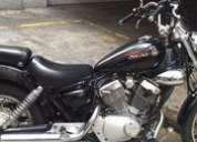 Excelente yamaha 250 v star chopper 4200 km impecable -10