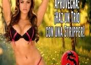 Jueves 18 en csw: ¡ ¡haz un trío con una stripper!