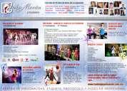 Cursos/clases actuacion canto baile modelaje 50% de descuento en inscripcion
