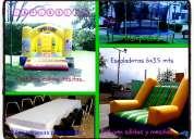 Renta de inflables sillas y mesas en santa catarina