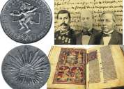 Se compran documentos, libros, fotos y monedas antiguas
